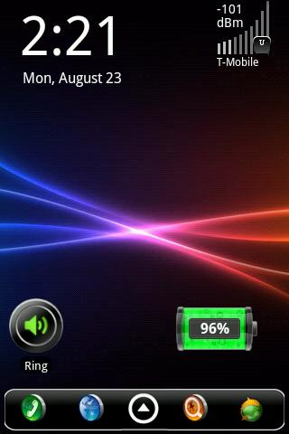 Signal Strength Widget- screenshot