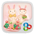 Berry rabbit GO Launcher Theme icon