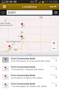 1st Community Bank Mobile - screenshot thumbnail