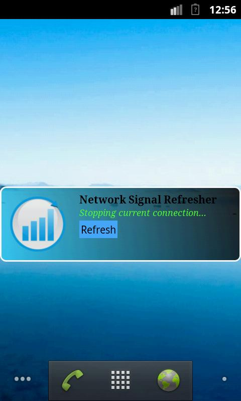 Network Signal Refresher Lite - screenshot