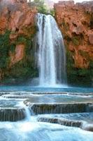 Screenshot of Natural Waterfalls Live Wallpa
