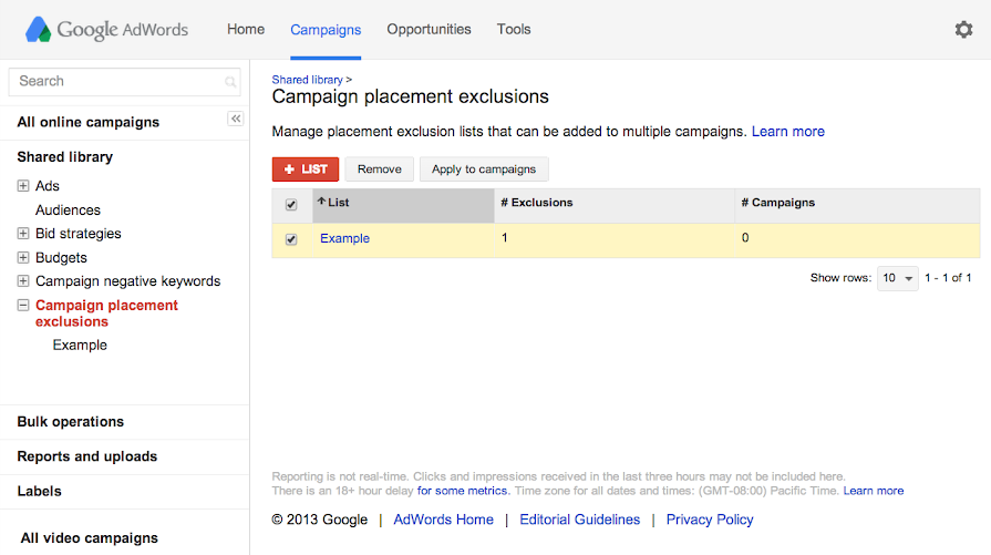 See the Add to more campaigns button