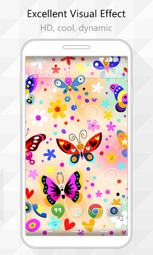 Cute Butterfly Live Wallpaper
