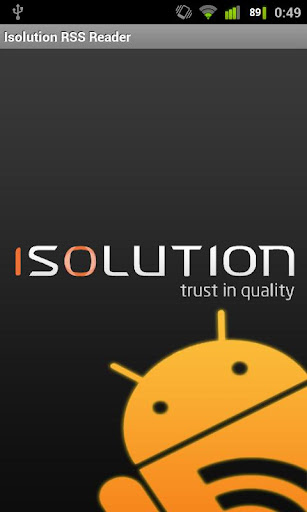 Isolution RSS Reader