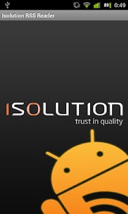 Isolution RSS Reader - screenshot thumbnail
