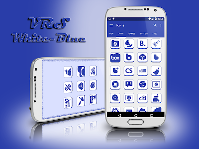 VRS White-Blue Icon Pack v1.0.0