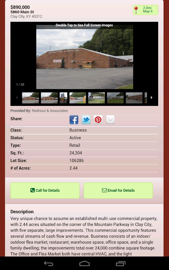 Eastern Kentucky Real Estate- screenshot