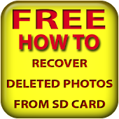 Recover deleted photos sd card