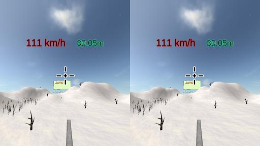 VR-SkiJump cardboard