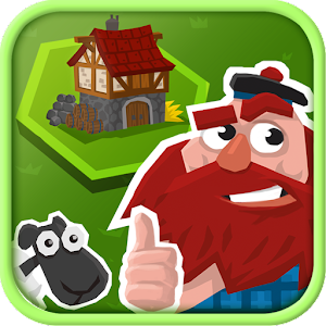 A clever Match 3 game. Swipe resources to build villages, towns, castles. APK Icon