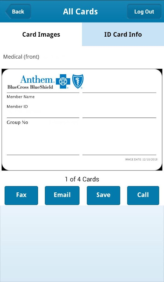 Anthem Blue Cross Blue Shield - screenshot