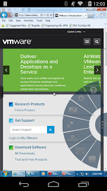 VMware Horizon Client Screenshot 2
