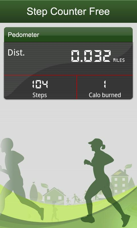 Free Pedometer & Step Counter - screenshot