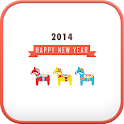 dalahorse(2014) go launcher icon