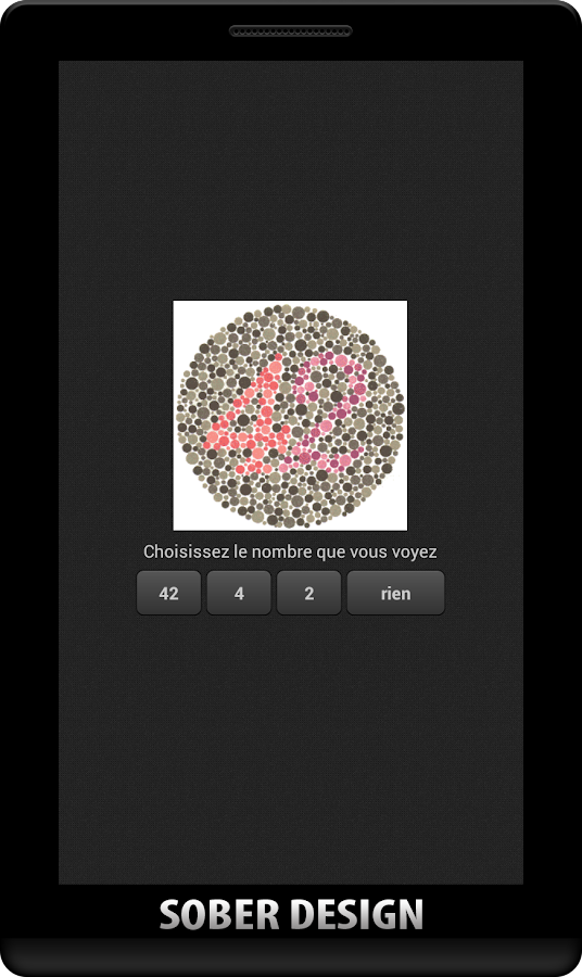 Color Blindness test Ishihara- screenshot