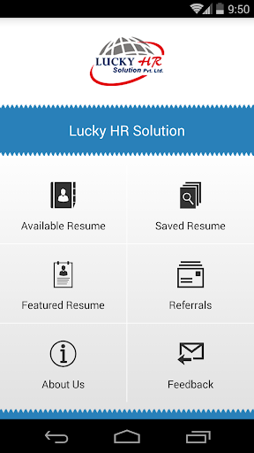 商業必備APP下載 Lucky HR Resume (Beta) 好玩app不花錢 綠色工廠好玩App