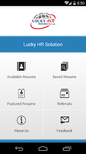 Lucky HR Resume (Beta)- screenshot thumbnail