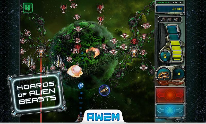 Star Defender 3™- screenshot