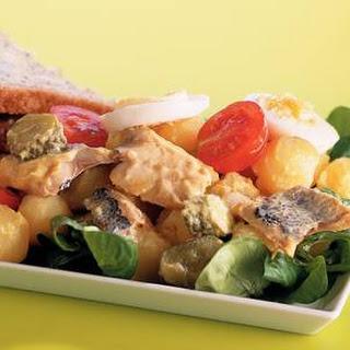Romige Haring-aardappelsalade