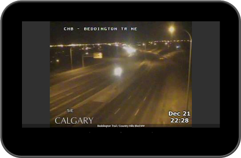 Calgary Traffic Alerts- screenshot thumbnail