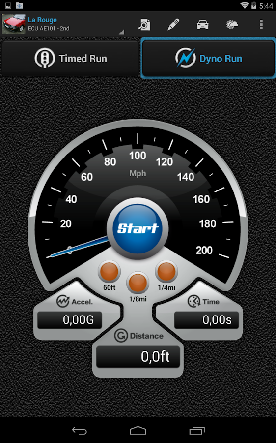 PerfExpert - Car Onboard Dyno- screenshot
