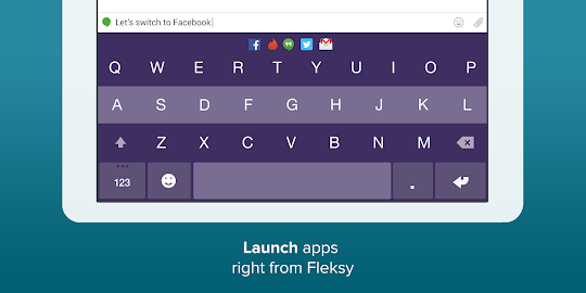 Fleksy Keyboard Screenshot 6