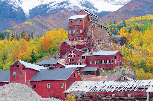 Kennecott-Copper-Mines - Explore the Kennecott Mines in McCarthy, Alaska, during a Princess expedition. The Kennecott mill town and copper mines are an extraordinary relic from America's past.