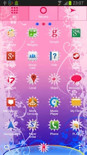 GO Launcher EX Unicorn Theme - screenshot thumbnail