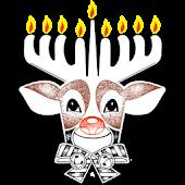 Rudolph the Menorah