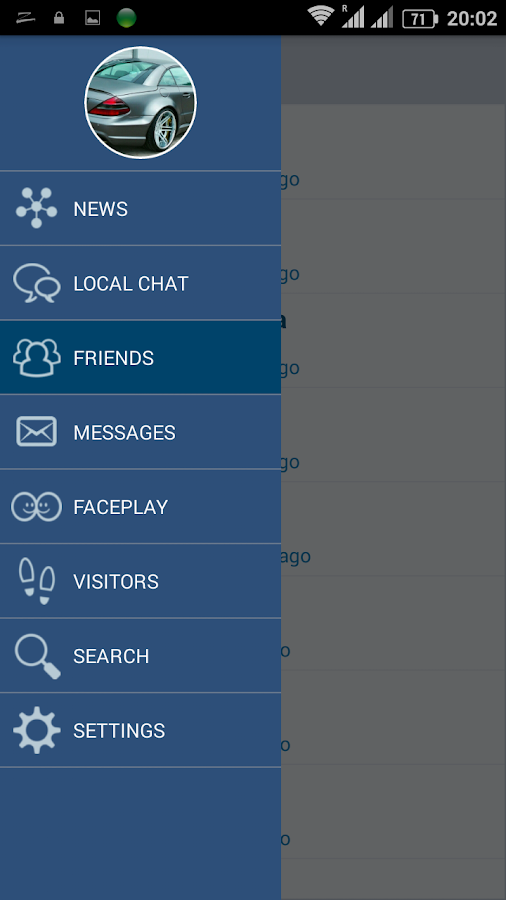 Voxle local chat and dating- screenshot