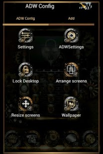 ADW Theme Steampunk- screenshot thumbnail