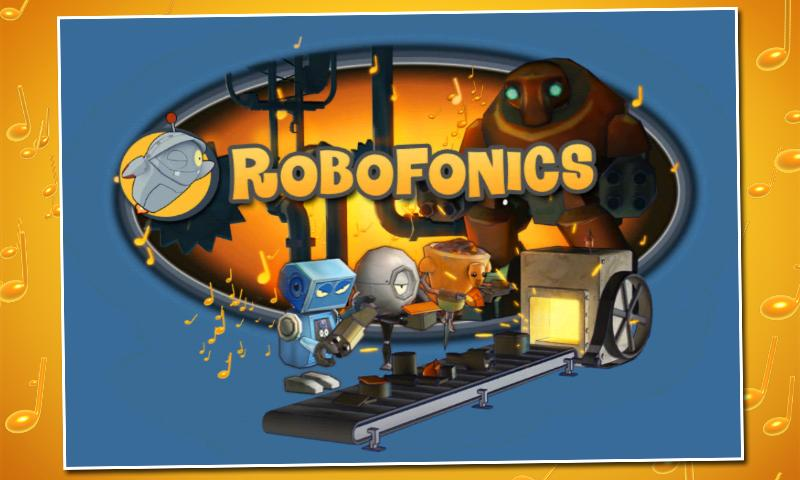 RoboFonics- screenshot