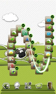 Next Launcher Theme P.Sheep - screenshot thumbnail