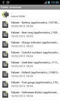 Screenshot of Yabawi (Battery Widget)