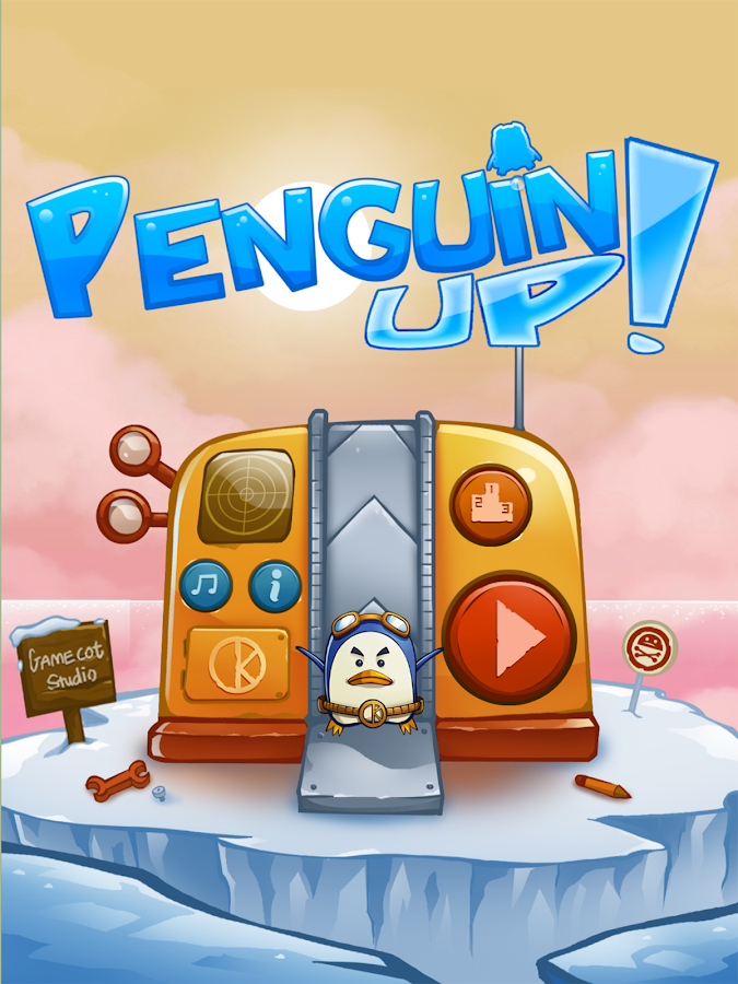 Penguin Up!- screenshot