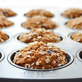 Healthy Pumpkin Chocolate Chip Muffins