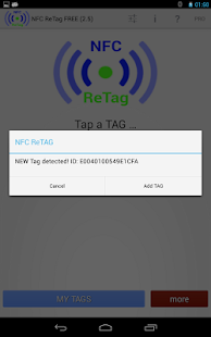NFC ReTag FREE- screenshot thumbnail