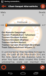 iChant Ganpati Atharvashirsha - screenshot thumbnail