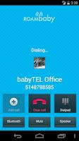 Screenshot of ROAMbaby by babyTEL