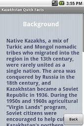 Kazakhstan Quick Facts