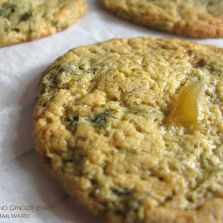 Frondy Fennel And Stem Ginger Biscuits