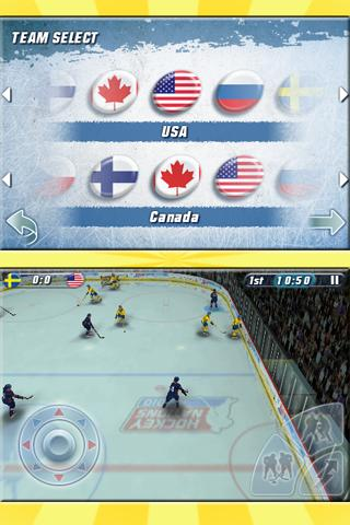 Hockey Nations 2010 - screenshot