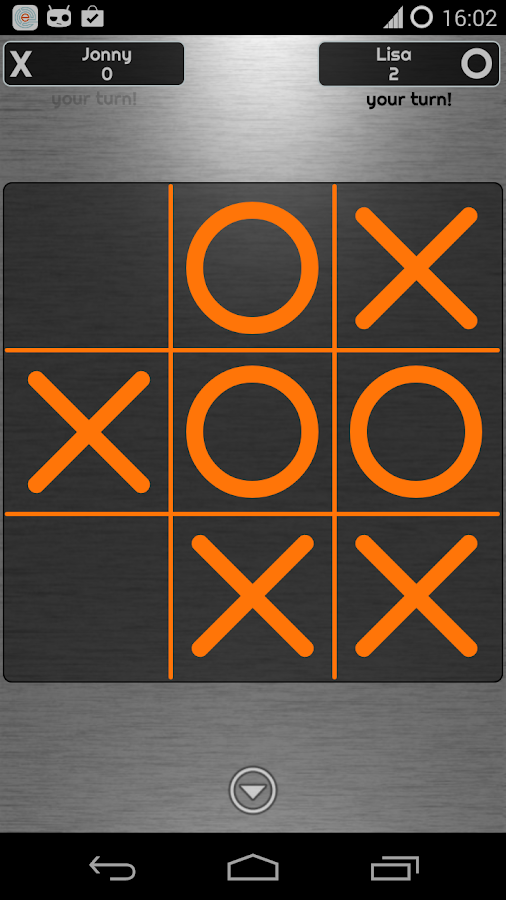 Simple TicTacToe - screenshot