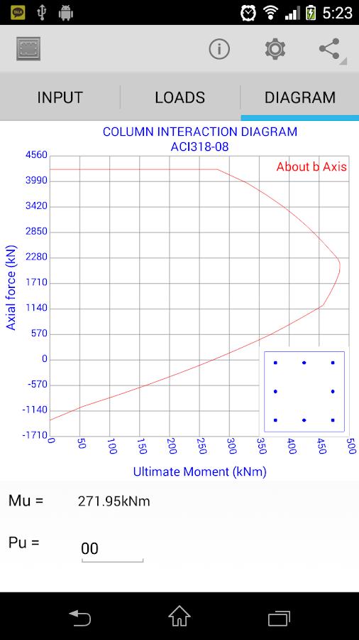 concrete column interaction diagram rectangular concrete column design - android apps on google play column interaction diagrams g 0 4