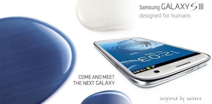 Galaxy S3 Pebbles Blue Theme apk