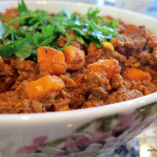 Ground Beef and Sweet Potato Curry