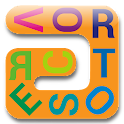Vortoserc word search puzzle icon