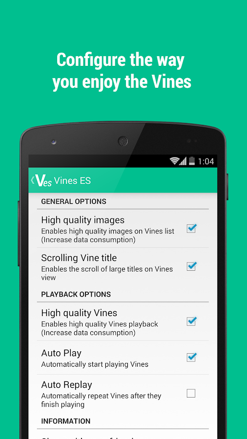 Vines ES (Vines in spanish) - screenshot