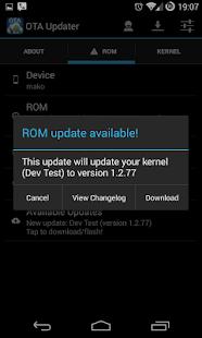 OTA Update Center - screenshot thumbnail