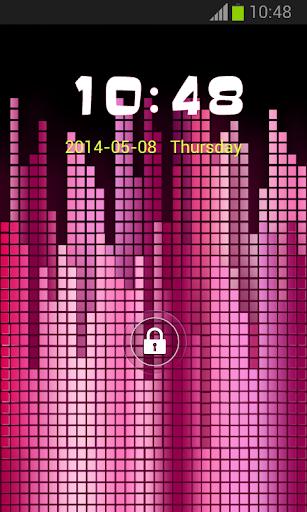 粉紅色GO鎖屏